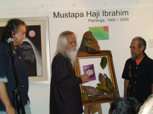 Pak Samad launching \'Gemuruh Alam\' at RA Fine Arts Gallery