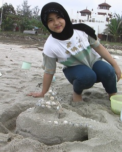 At Batu Buruk beach Dec 2006